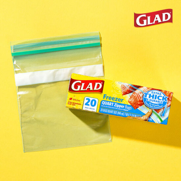 글래드  냉동형 중형 지퍼백(20매입) 상품이미지