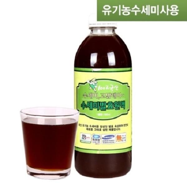 유기농 수세미발효원액(1000ml 1병) 미산약초농장 상품이미지