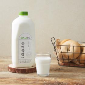 GSfresh 순백목장우유 1.8L