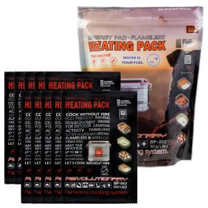 발열팩 휴대용 발열도시락 캠핑용품 등산용품 50g X 10 상품이미지