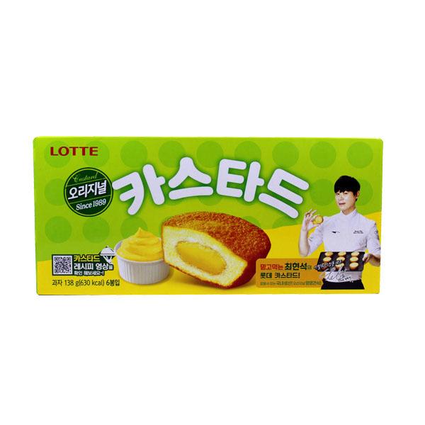 롯데 카스타드 오리지널 138gX12개입 BOX 상품이미지