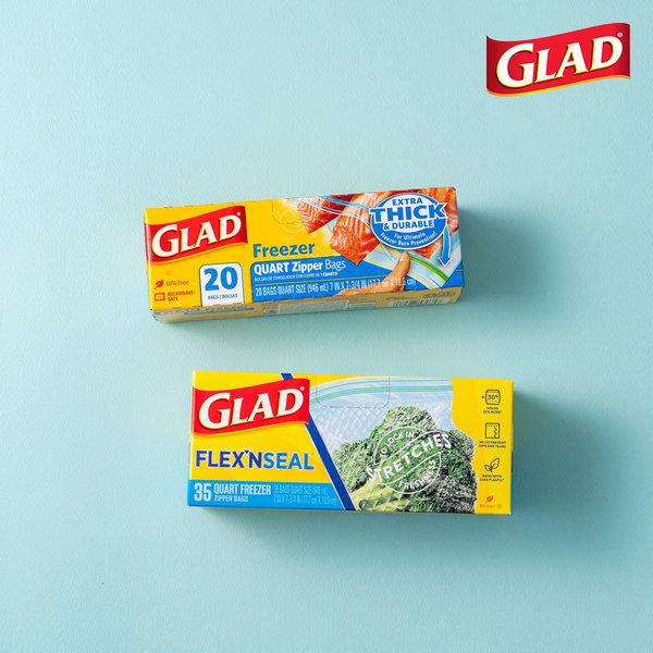 글래드  지퍼백 냉동중형+플렉스앤씰 냉동중형(35매) 상품이미지