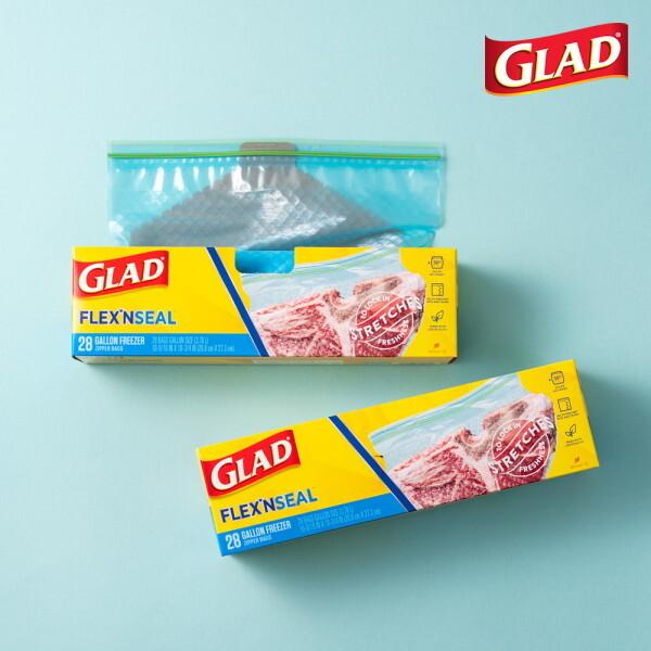 글래드  플렉스앤씰 냉동 대형(28매) 2개세트 상품이미지