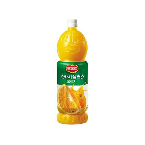 델몬트 스카시플러스 오렌지주스 1.5L/오렌지쥬스 상품이미지