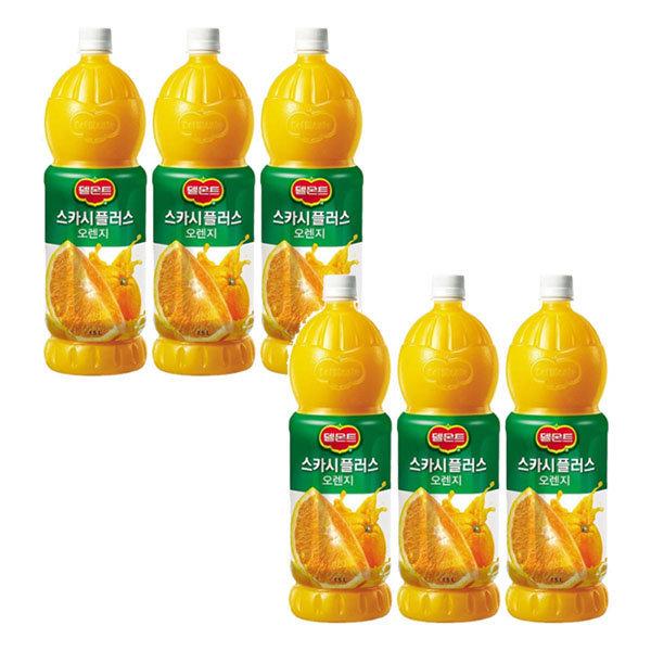 델몬트 스카시플러스 오렌지주스 1.5LX6/오렌지쥬스 상품이미지