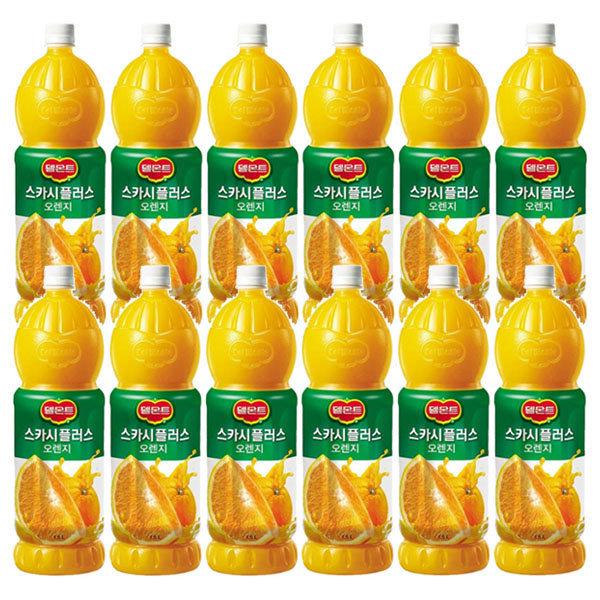 델몬트 스카시플러스 오렌지주스 1.5LX12/오렌지쥬스 상품이미지