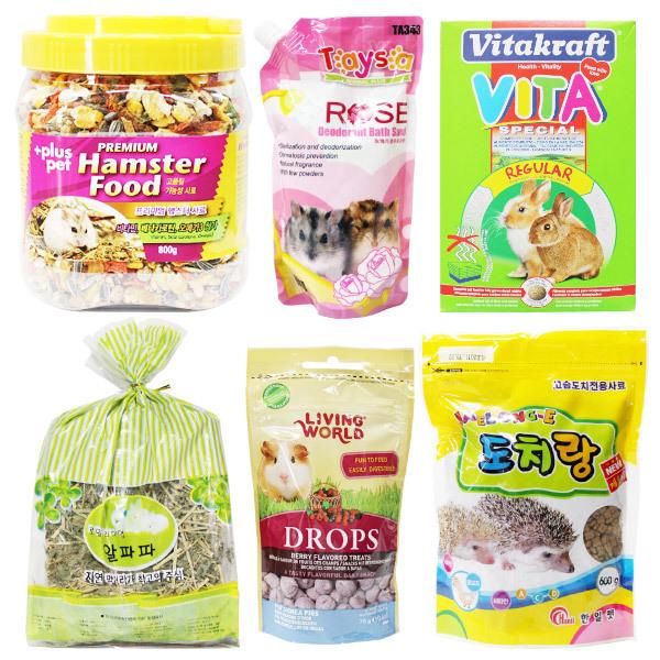 햄스터/토끼/기니피그/고슴도치/급수기/급식기/사료 상품이미지