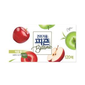 피죤 건조기용 섬유유연제 보타닉 애플밤 120매 1개