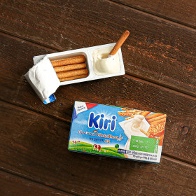 크림치즈 딥앤크런치 통밀 3입(냉장)/치즈스틱 디저트