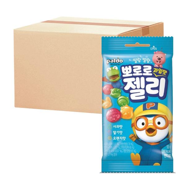 뽀로로젤리 사과딸기오렌지맛 12개 X 2번들(총24개) 상품이미지