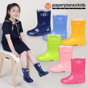[페이퍼플레인키즈] 아동 장화 레인부츠 아동화 어린이 신발 남아 여아 장마