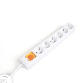 멀티탭 6구 메인 스위치 절전형 접지 국산 멀티콘센트