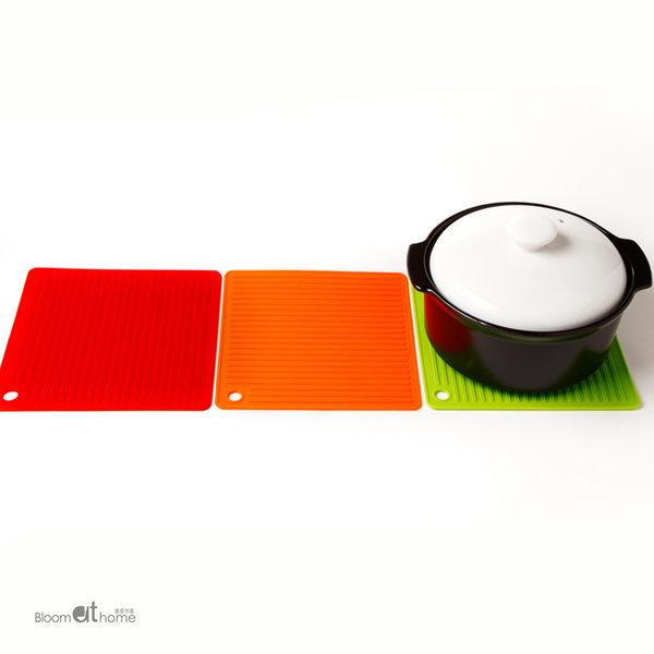 실리콘 사각 냄비받침 (색상선택) 1개 상품이미지