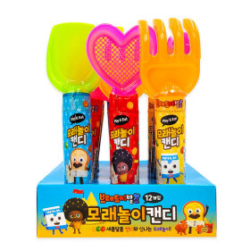Bread Barbershop Sand Play Candy Set Toy 20g 12pcs