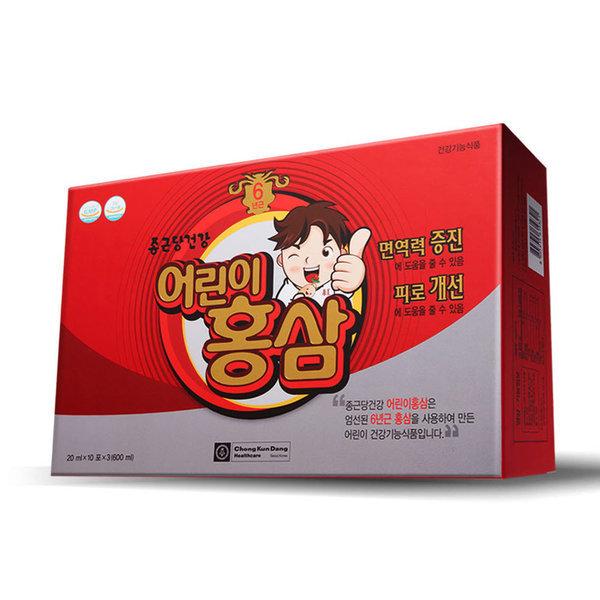 종근당건강 어린이 홍삼 30포 1박스 (1개월분) 상품이미지