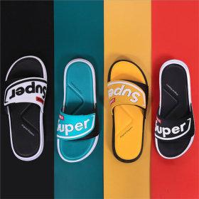 남성 경량 쿠션 슬라이드 샌들 슬리퍼 SS2009