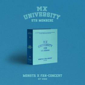(Global) MONSTA X 2021 FAN-CONCERT (MX UNIVERSITY) KIT VIDEO