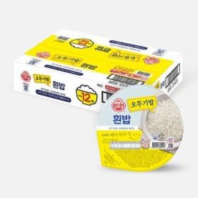 오뚜기 맛있는밥 (210G 12입)