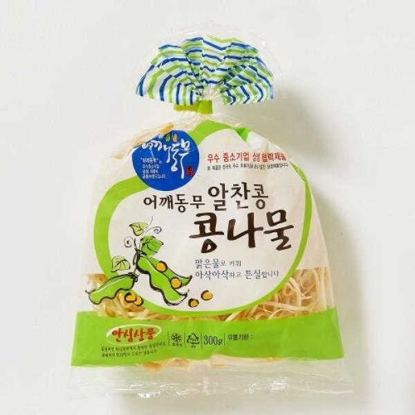 어깨동무 알찬콩 콩나물 (300G) 상품이미지