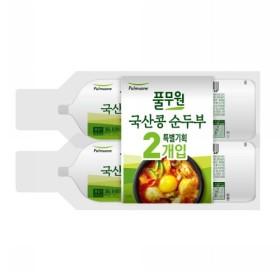 풀무원 국산콩 순두부 (350G 2입)