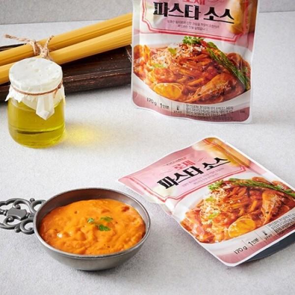 요리하다 로제 파스타 소스 (170G) 상품이미지