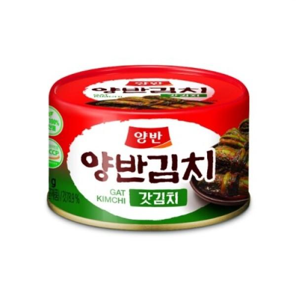 동원 양반 갓김치 (캔) (160G) 상품이미지