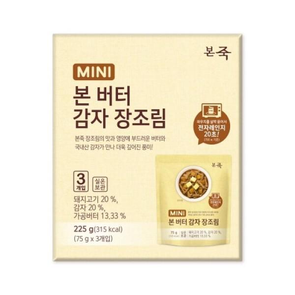 본죽 MINI본버터감자장조림 (75G 3입) 상품이미지
