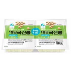종가집 국산콩 두부두모 (340G 2입)