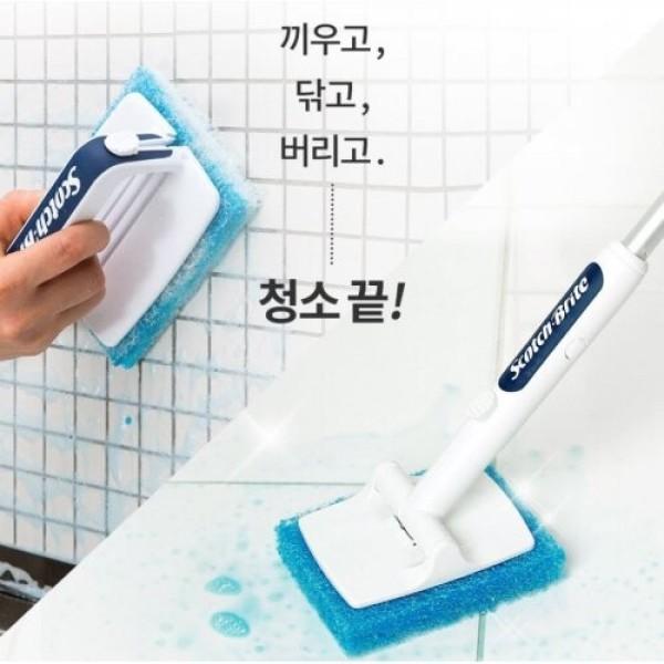 3M 욕실청소용 크린스틱 핸들팩 상품이미지