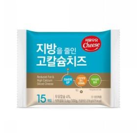 서울 지방줄인 고칼슘 치즈 (270G)