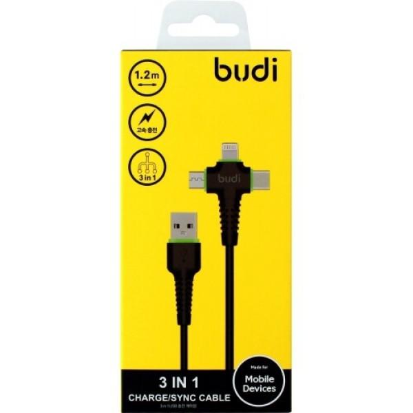 USB 충전케이블 (3in1) (1.2M) 상품이미지