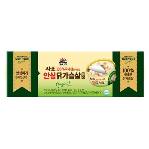 사조 리얼 닭가슴살 (135G 3입) 상품이미지