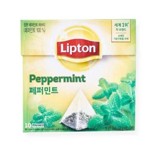 립톤 페퍼민트 허브티 (0.8G 10입) 상품이미지