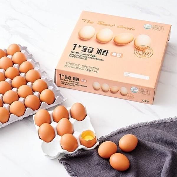 1+등급 계란(특란) (30입/1.8KG) 상품이미지