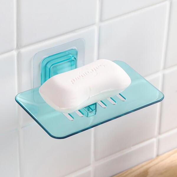 아트박스  /로하티 클리어 접착식 비누받침대(그린) 상품이미지