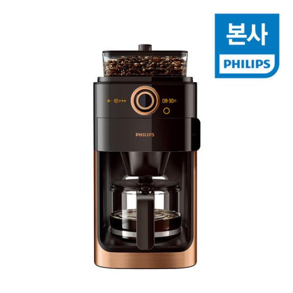 PHILIPS 필립스 그라인드 앤 브루 커피메이커 HD7768/ 상품이미지