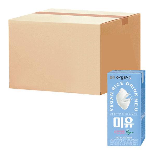 아침햇살 미유 190ml 24팩 1박스 상품이미지