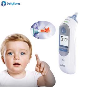 브라운체온계 IRT-6510 귀 발열 체크기 고막체온계 D