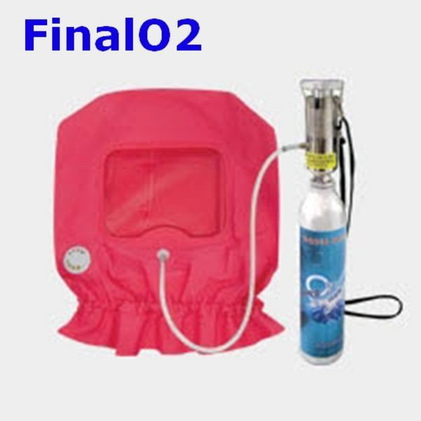 OP Final O2-A 화재대피용 산소공급기  산소호흡기 상품이미지