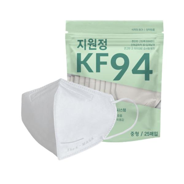 지원정 새부리형 KF94 중형 마스크 100매 비말차단 상품이미지