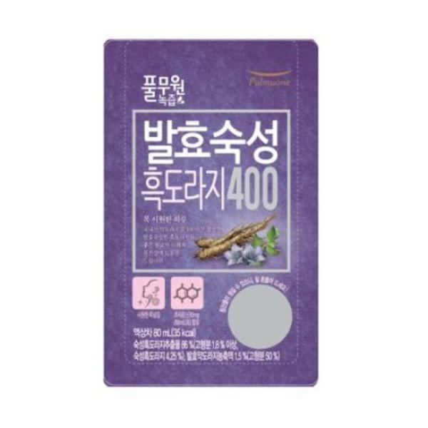 풀무원녹즙  발효숙성 흑도라지400 1box(80mlx30포) 상품이미지