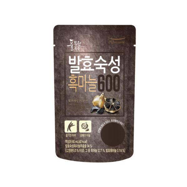 풀무원녹즙  발효숙성 흑마늘600 1box(80mlx30포) 상품이미지