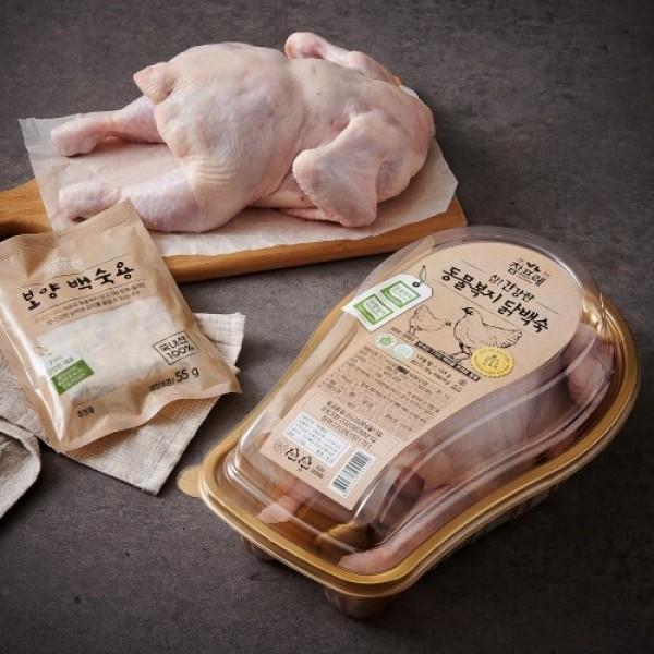 참프레 동물복지 닭 (백숙용) (1.1KG) 상품이미지