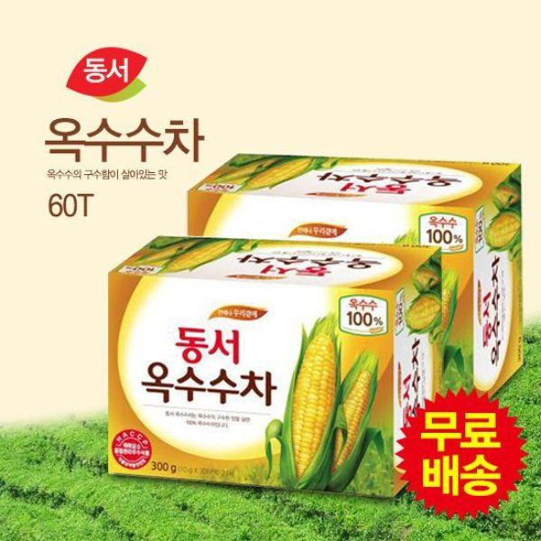 동서식품  무료배송  동서 옥수수차 식수용 60T(30Tx 상품이미지