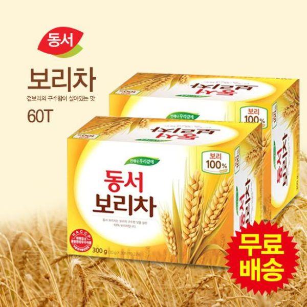 동서식품  무료배송  동서 보리차 식수용 60T(30Tx2 상품이미지