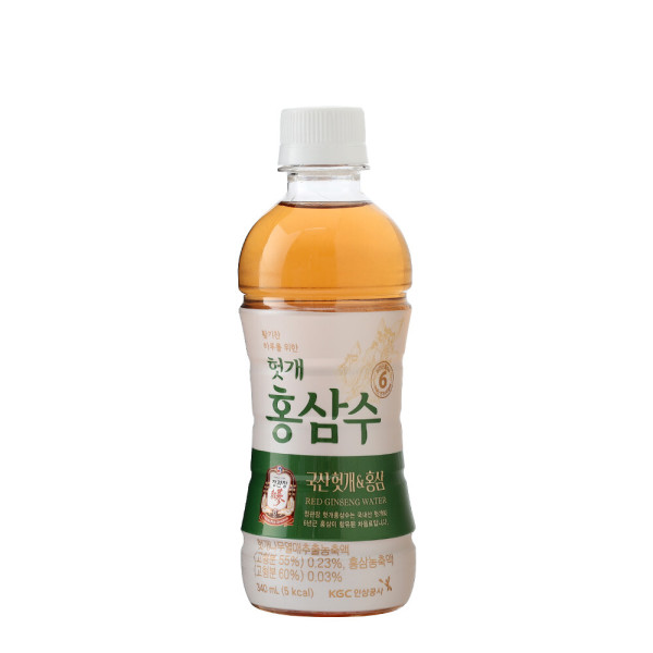 헛개홍삼수 340mlX20펫-헛개수/헛개차 6년근홍삼음료 상품이미지