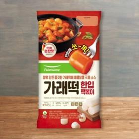 풀무원 한입 쏙 가래떡 국물떡볶이 (423.5G)