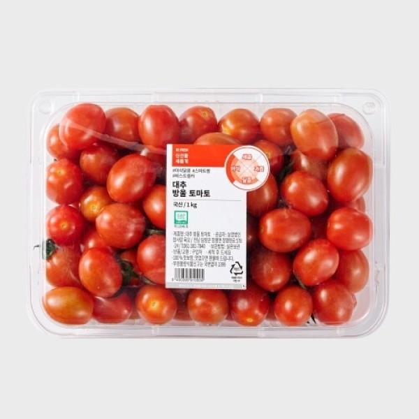 GAP 대추 방울 토마토 (1KG/팩) 상품이미지