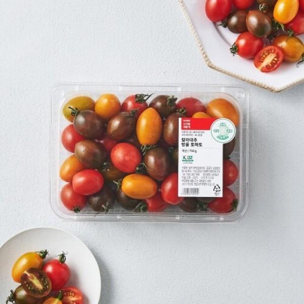 칼라대추방울토마토 (750G팩) 상품이미지