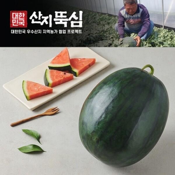흑미수박 (5-6KG미만) 상품이미지